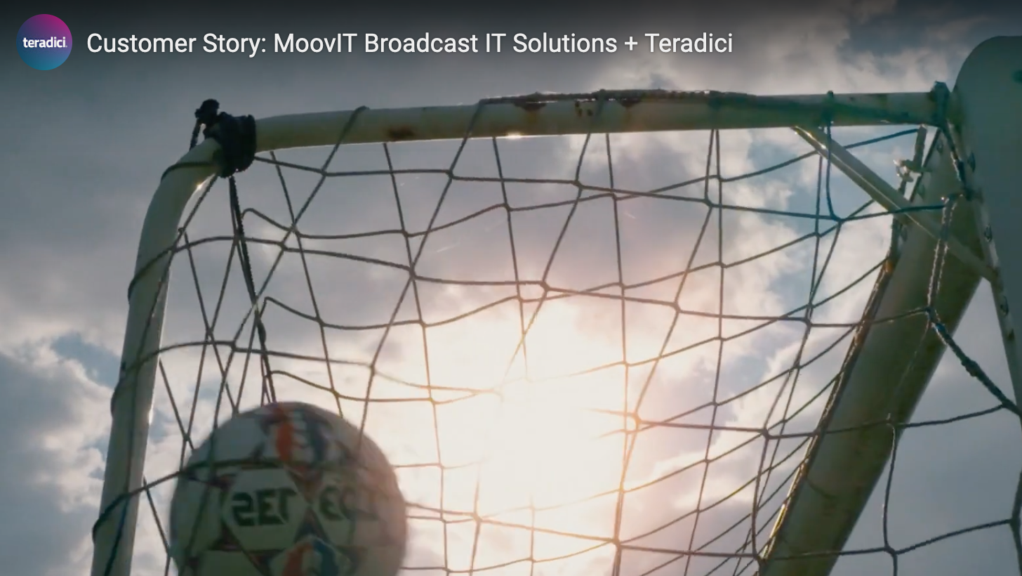 Teradici's Customer Story: Managing postproduction for a European sporting event efficiently with remote editing teams